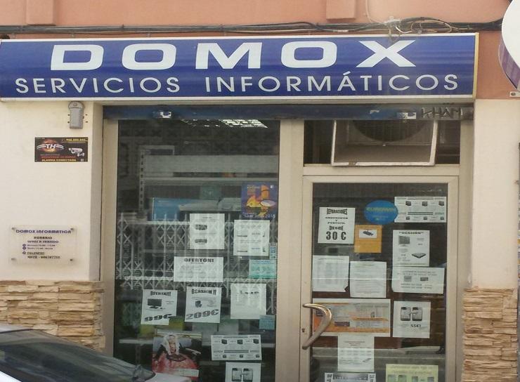 foto fachada de Domox en alicante