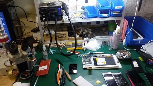 Reparaciones en nuestras instalaciones